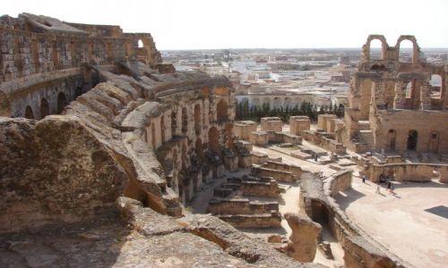 Zdjęcie TUNEZJA / Tunezja / Tunezja / amfiteatr El Jem