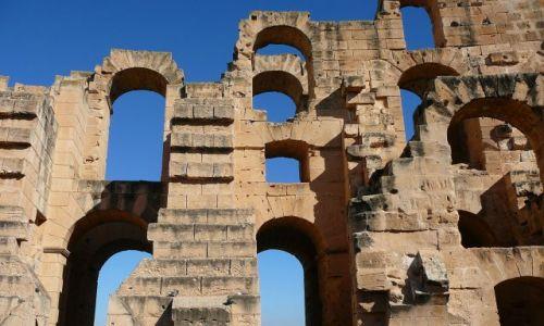 Zdjęcie TUNEZJA / El Jem / coloseum / Coloseum
