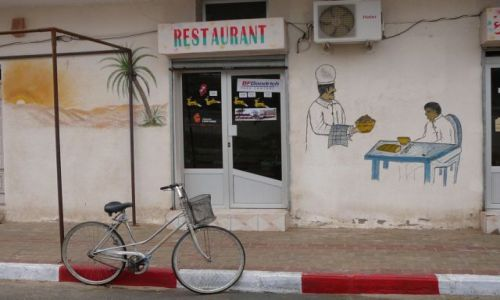 Zdjęcie TUNEZJA / Duz / restaurant / zaproszenie na obiad