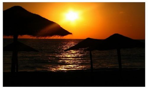 Zdjecie TUNEZJA / sousse / port el kantanui / wschód słońca