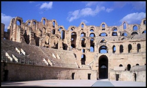 Zdjecie TUNEZJA / brak / El Jem / Koloseum