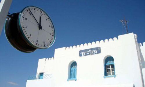 Zdjęcie TUNEZJA / El Jem / El Jem / za dziewięć dwunasta