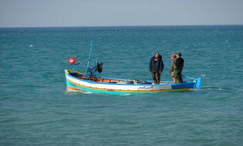 Zdjęcie TUNEZJA / hamamet / Hamamet / Rybacy