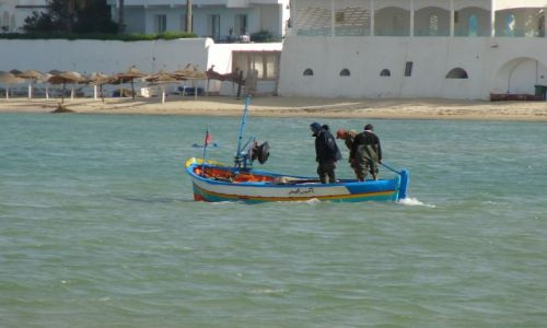Zdjęcie TUNEZJA / hamamet / Hamamet / rybacy 1