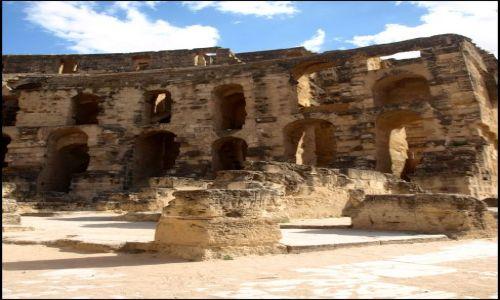 Zdjęcie TUNEZJA / El Jem / Koloseum / No i kto to teraz poukłada
