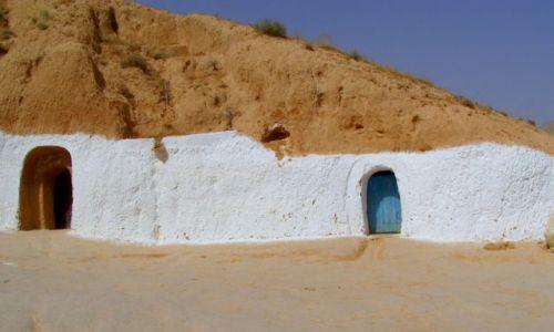 TUNEZJA / Tunezja / Sahara / dom Berber�w