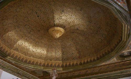Zdjecie TUNEZJA / Tunis / Muzeum mozaik / przepiękny sufit jak dla mnie:-)))