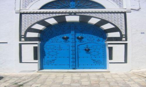 Zdjecie TUNEZJA / brak / tunezja / drzwi