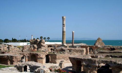 TUNEZJA / Tunis / Kartagina / Ruiny Kartaginy