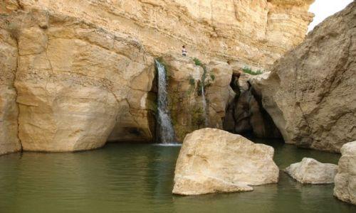 Zdjęcie TUNEZJA / Południowo - zachodnia Tunezja / Tamerza / Wodospad TUNEZYJSKI