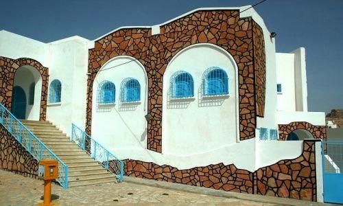 TUNEZJA / Południowo-wschodnia Tunezja / Matmata / Nie-zwykła poczta
