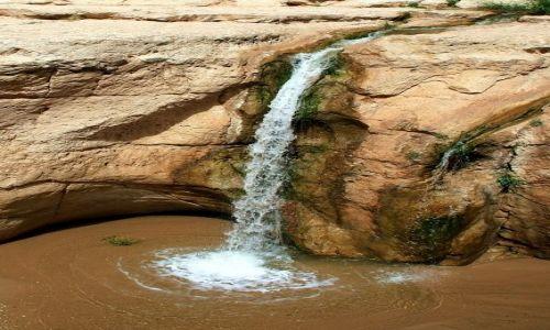 TUNEZJA / Zachodnia Tunezja / Tamerza / Wodospad dla Naturell