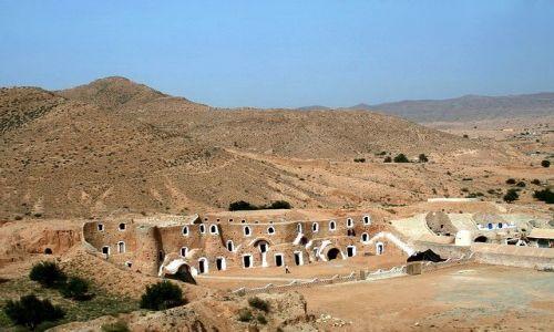 TUNEZJA / Południowa Tunezja / Matmata / Hotel troglodytów