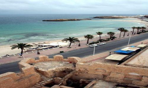 TUNEZJA / Wschodnia Tunezja / Monastir / Widok z ribatu