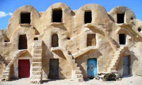 Zdjęcie TUNEZJA / - / środkowo-zachodnia Tunezja / konkurs - DRZWI SWIATA