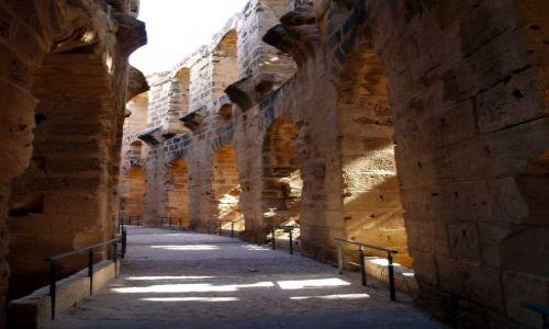 Zdjecie TUNEZJA / El-Jem / Tunezja / Amfiteatr