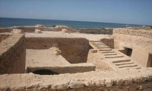 Zdjęcie TUNEZJA / Wyspy Kerkennah / Wyspa Chergui / Twierdza  Borj el - Hissar