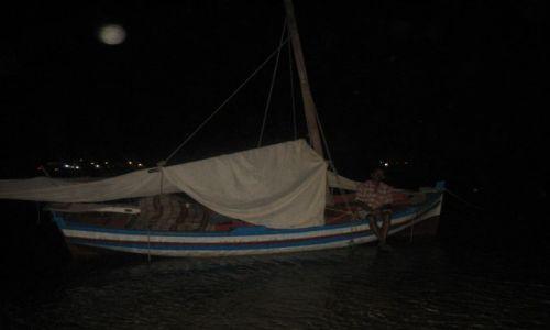 TUNEZJA / Wyspy Kerkennah / Wyspa Chergui / Księżycowa noc