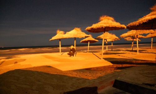 Zdjęcie TUNEZJA / monastir / ,,, / na plazy