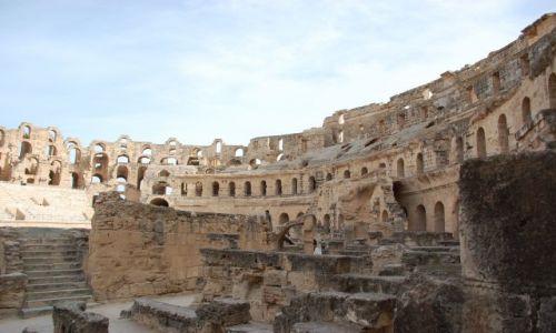 Zdjęcie TUNEZJA / tunezjia / coloseum / colseum