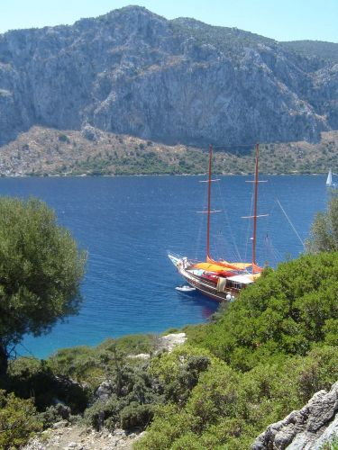 Zdj�cia: wyspy na M.Egejskim, Uroki Morza Egejskiego, TURCJA