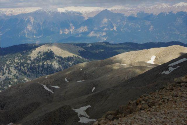 Zdjęcia: Góry Taurus, Tahtali, Widok ze szczytu Tahtali 2365m, TURCJA