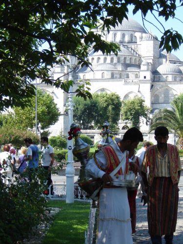 Zdjęcia: Istambuł, Herbatka po turecku, TURCJA