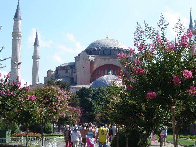 Zdjęcia: Istambuł, Hagia Sophia, TURCJA
