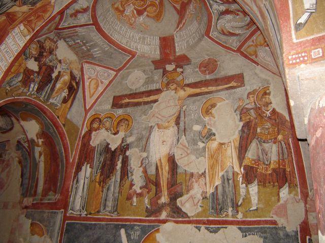 Zdjęcia: Kapadocja, fresco 2, TURCJA