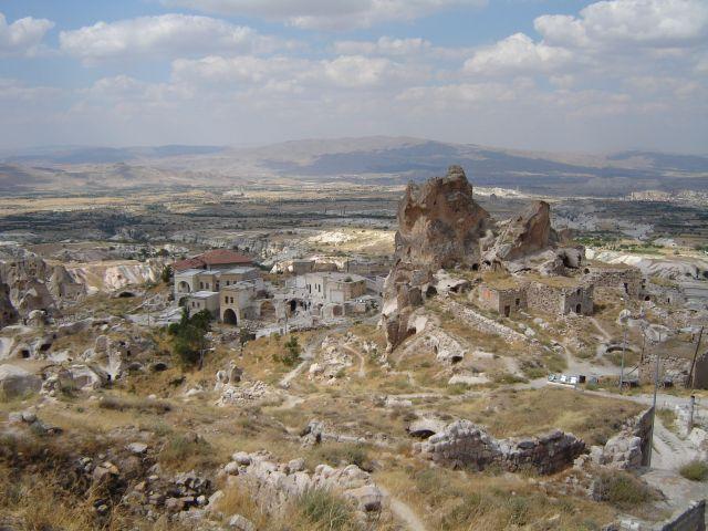 Zdjęcia: Kapadocja, Kapadocja, Wulkaniczne twory Kapadocji, TURCJA