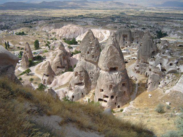 Zdjęcia: Kapadocja, Kapadocja, Wulkaniczne kominki, TURCJA
