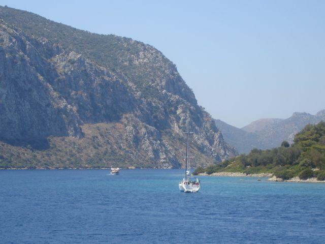 Zdj�cia: Morze Egejskie, Morze i g�ry, TURCJA