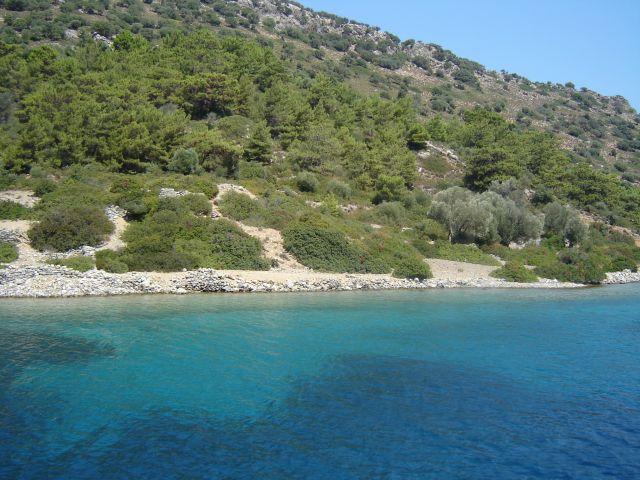 Zdjęcia: Morze Egejskie, Tureckie turkusy, TURCJA