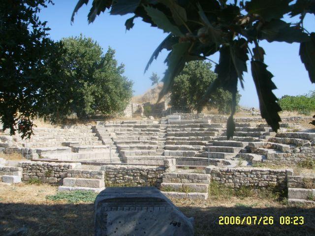 Zdjęcia: Troja, Odeon w Troi, TURCJA