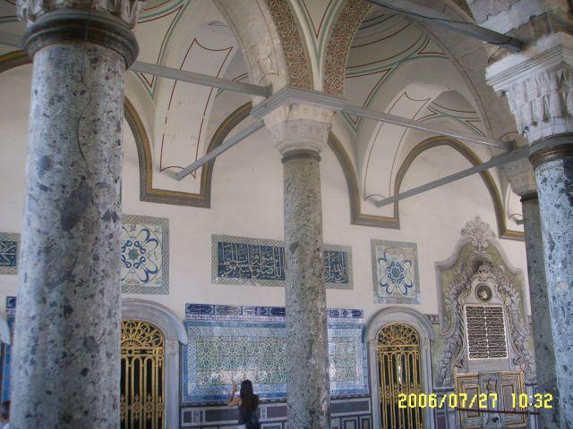 Zdjęcia: Stambuł, W pałacu Topkapi, TURCJA