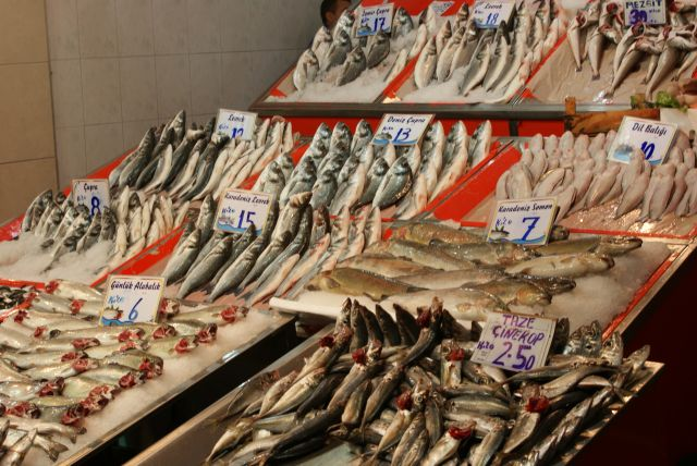 Zdjęcia: Ulus, Ankara, Świeże rybki, TURCJA