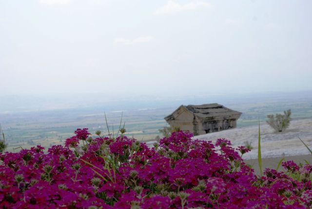 Zdjęcia:  , Okolice Pammukale , Panorama, TURCJA