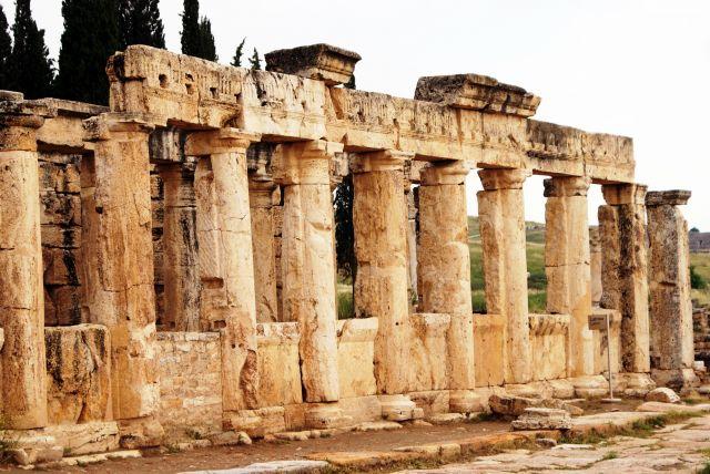 Zdjęcia: Hierapolis,  , Starożytne toalety, TURCJA