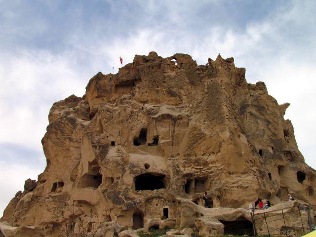 Zdjęcia: Uchisar, Kapadocja, Twierdza, TURCJA