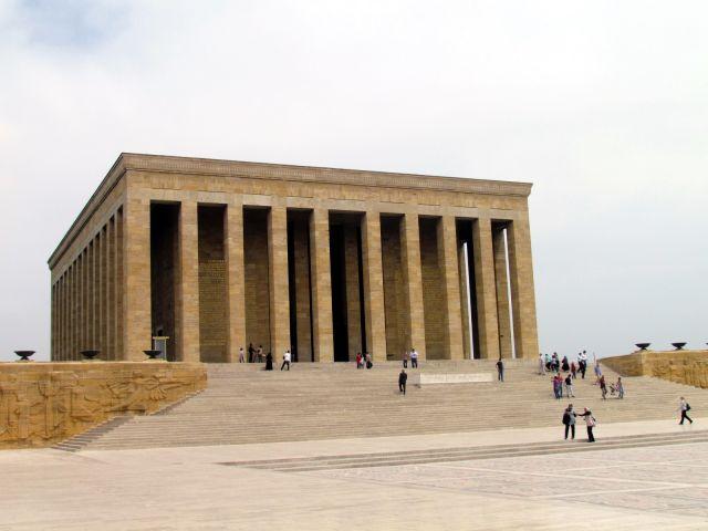 Zdjęcia: Ankara, Anatolia, Mauzoleum Ataturka, TURCJA