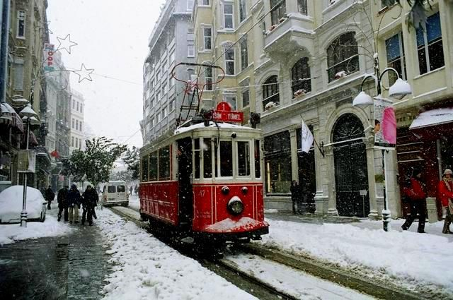 Zdjęcia: Istamul Turky, Istambul - zima, TURCJA