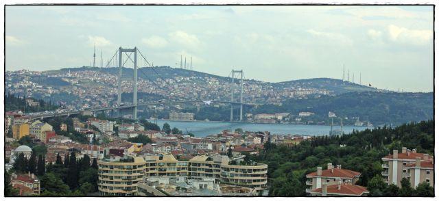 Zdjęcia: Istanbuł, ., Bosforus Bridge, TURCJA