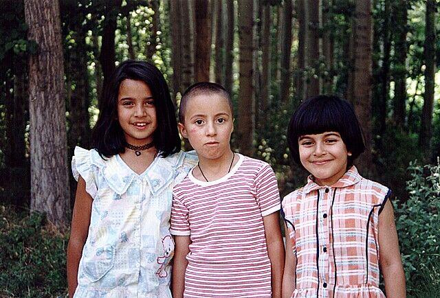 Zdj�cia: Jedna z wiosek, Kapadocja, Urocze Tureckie dzieci, TURCJA