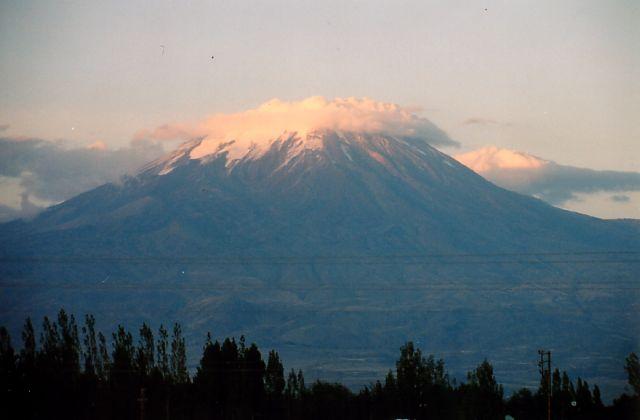 Zdjęcia: Dogubayazit, Granica z Iranem-wschodnia Turcja, Góra Ararat, TURCJA