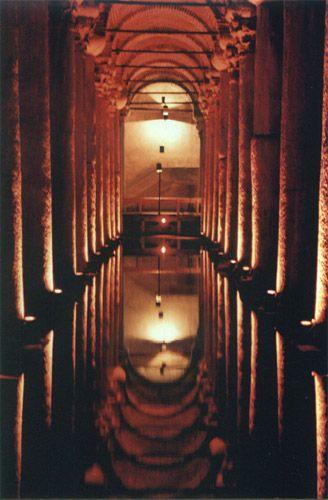 Zdjęcia: Stambuł, starożytny zbiornik na wodę, TURCJA