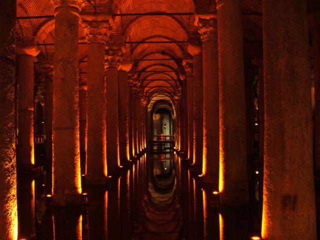 Zdjęcia: Istanbul, podziemny Stambuł, TURCJA