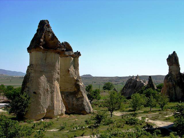 Zdj�cia: Kapadocja, Kapadocja - kraina historyczna w Anatolii w Azji Mniejszej , Na grzyby ;), TURCJA