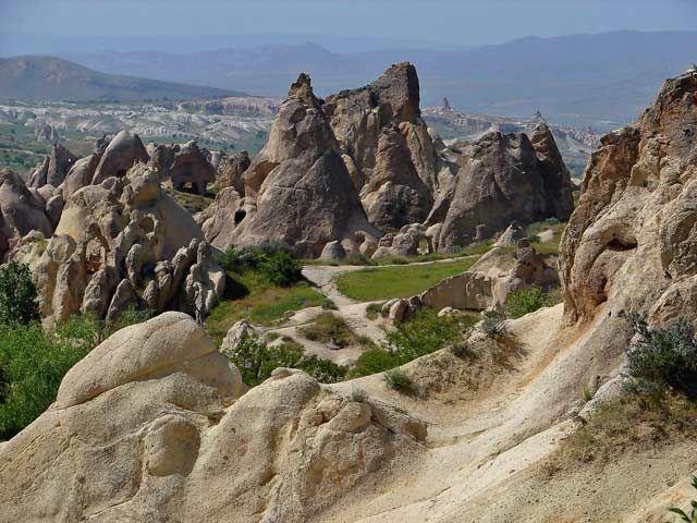 Zdjęcia: Kapadocja, Kapadocja - kraina historyczna w Anatolii w Azji Mniejszej , Kapadocja, TURCJA