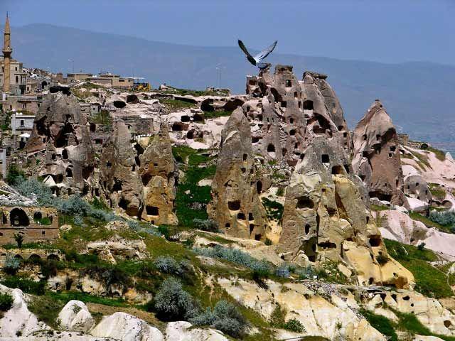 Zdjęcia: Kapadocja, Kapadocja - kraina historyczna w Anatolii w Azji Mniejszej , Kapadocja 2, TURCJA