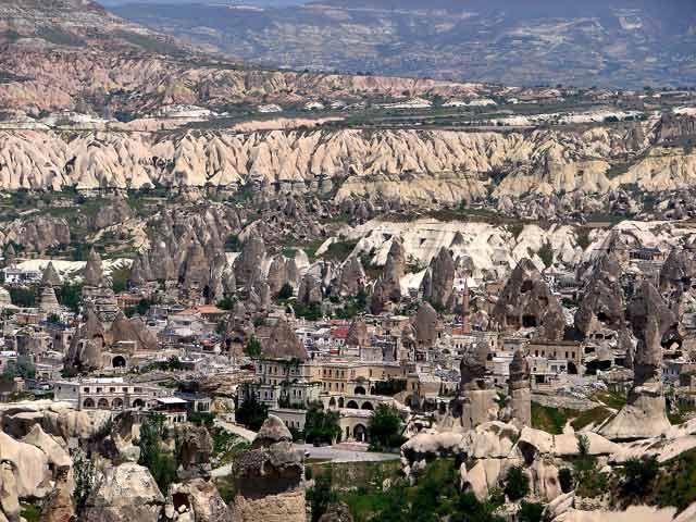 Zdjęcia: Kapadocja, Kapadocja - kraina historyczna w Anatolii w Azji Mniejszej , Kapadocja3, TURCJA